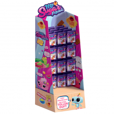 Floor display, can hold up to 48 single packs