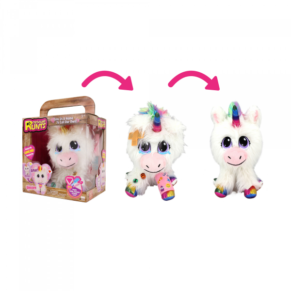 Rescue Runts Unicorn, 20 cm