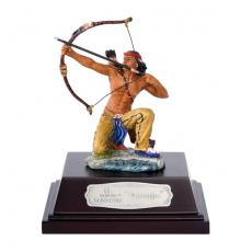 "Indianer ""NAVAJO"" knieend mit Pfeil+Bogen ca. 9cm"
