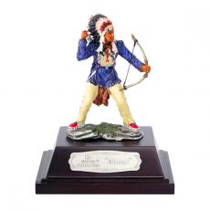 """Indianer """"SIOUX"""" stehend mit Pfeil+Bogen ca. 9cm"""