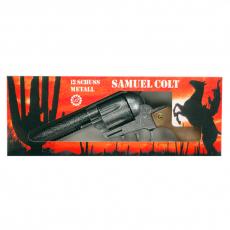 Samuel Colt antik 27cm, Box