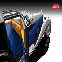1:18 Bugatti Royale Coupe de Ville 1930, blue/black