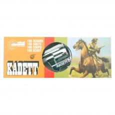 Kadett silber 19cm, Box