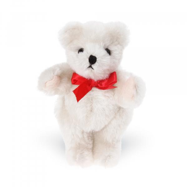 Mohair-Flexible Bear 15cm cream