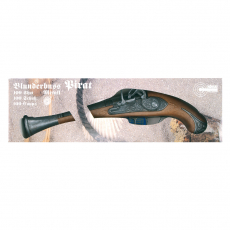 Blunderbuss Pirate 27cm, 100-shot, box