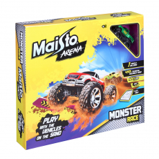 """""""Monster Race"""", incl. 1x Dirt Demon, 1x play tray and 450g sand"""
