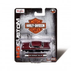 1:64 Custom Autos sort., Blisterkarte