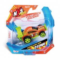 NXS Racers 7,5cm, Blisterkarte, High-Speed Pull-back