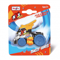 NXS Rally Rigs ca. 6cm, High speed Pull-back, Blister