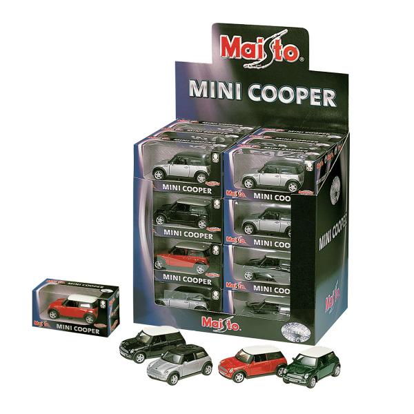 Mini-Cooper 12cm Pull-back, 24pcs Display
