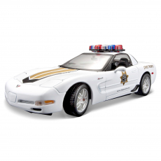 Corvette Z06 Polizei
