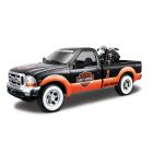 1:24 Ford F-350 Superduty Pickup ´99 + EL Knucklehead ´36