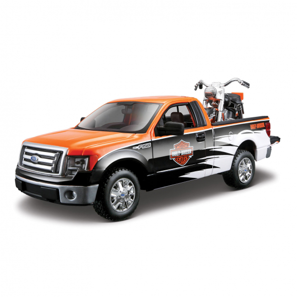1:24 Ford F-150 STX + FLH Duo Glide ´58