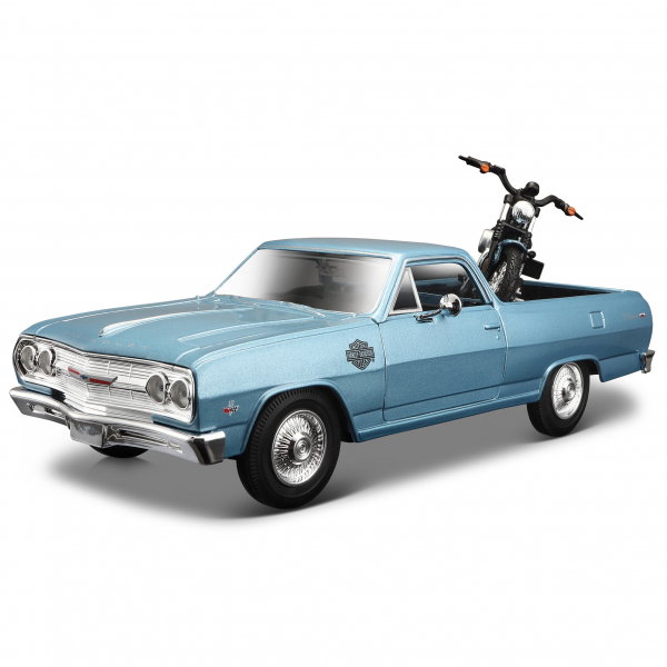 1:24 Chevrolet El Camino + XL 1200N Nightster ´07