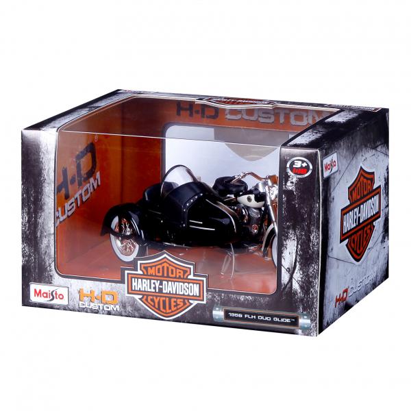 1:18 Harleys mit Beiwagen sort.