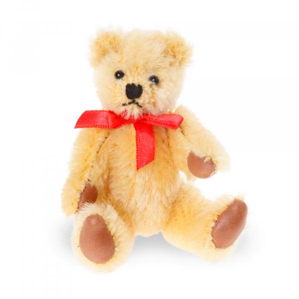 Mohair-Flexible Bear gold 10cm