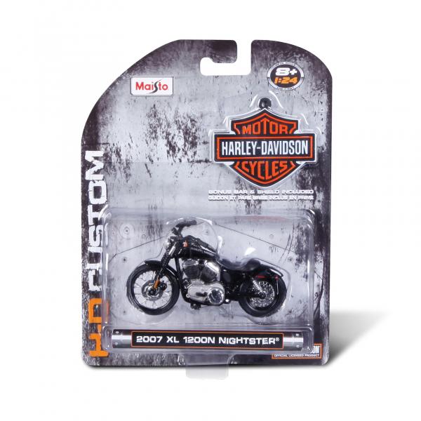 1:24 Harleys ass., Blistercard