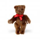 Mohair-Flexible Bear dark brown 16cm