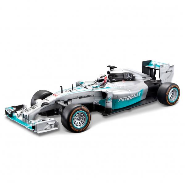 1:24 Mercedes AMG Petronas F1 W05 Hybrid Hamilton (ohne Batterien)