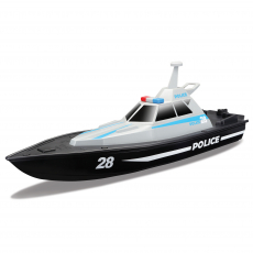 R/C Police Boat 34cm (2,4 GHz) USB