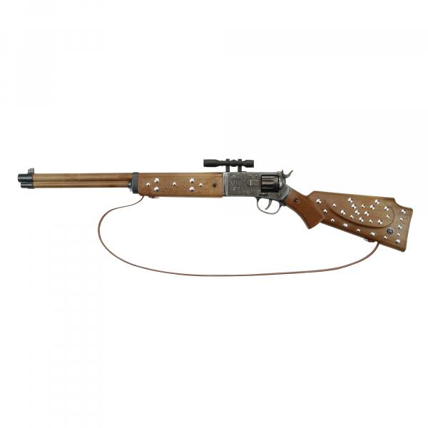 Silberbüchse antik 77cm, 12-Schuss, Tester