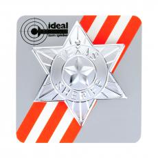 Sheriff-Star, on card