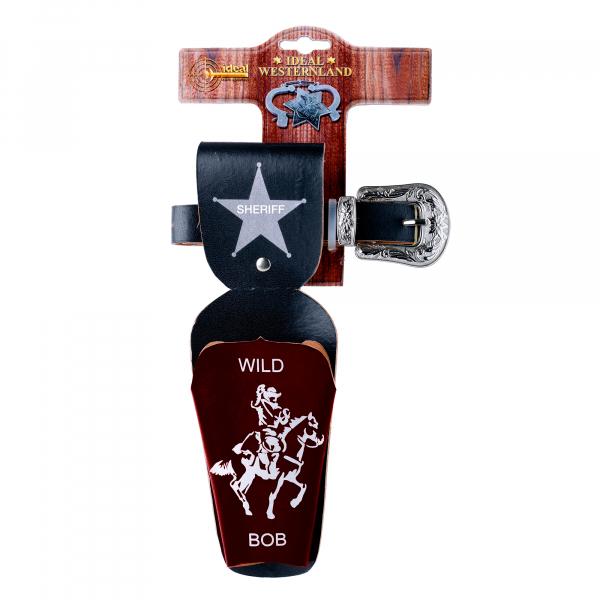 """Gürtel """"Wild Bob"""", 65-90cm, 1 Tasche, Tester aus Pappe"""