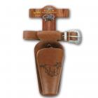 "Belt ""Horse"" 65-90cm, 1 holster, cardboard tester"