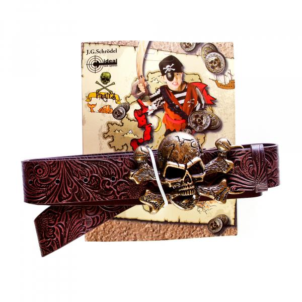 Piratengürtel, L 115-125cm, B 4cm, Karte