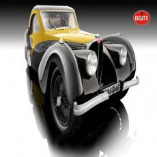 1:12 Bugatti Atalante, yellow