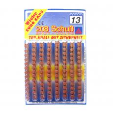13-Schuss Munition, 208 Schuss Blisterkarte