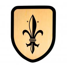 "Shield ""Lily"", 27x34cm"