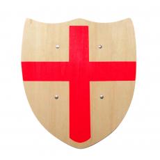 "Schild mit ""rotem Kreuz"", 30x33cm"