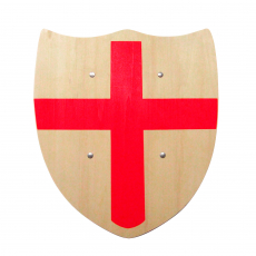 """Shield with """"red cross"""", 30x33cm"""