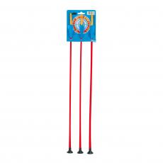 3 x Arrow with suction cup on card, 60cm
