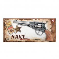 Navy 8-Schuß Metall Western 22,5cm, Box