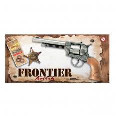 Frontier 12-Schuß Metall Western 25cm, Box