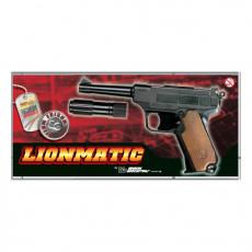 Lionmatic 13-Schuß 26,5cm mit Schalldämpfer, Box